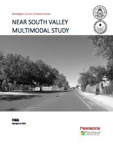 Near South Valley Multimodal Study