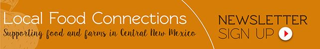 Local Food Connections Newsletter Sign Up Button