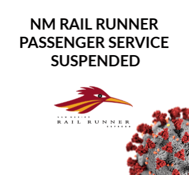 NM Rail Runner Express Service Suspended