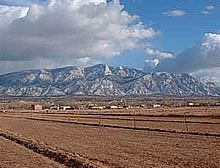 Farmland in Sandoval County with a View of the Sandias