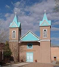 Church in Bernalillo