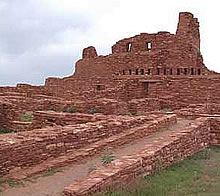 Salinas Pueblo Missions National Monument in Torrance County