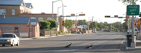 Street in Bernalillo