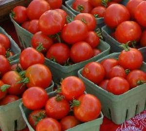 Tomatoes at Farmers Market