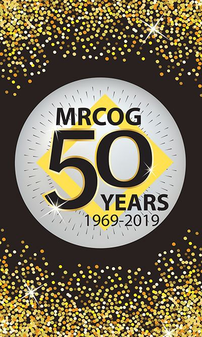 MRCOG Annual Event Banner - 50 Years